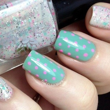 Classically Chic nail art by Nail Polish Wars