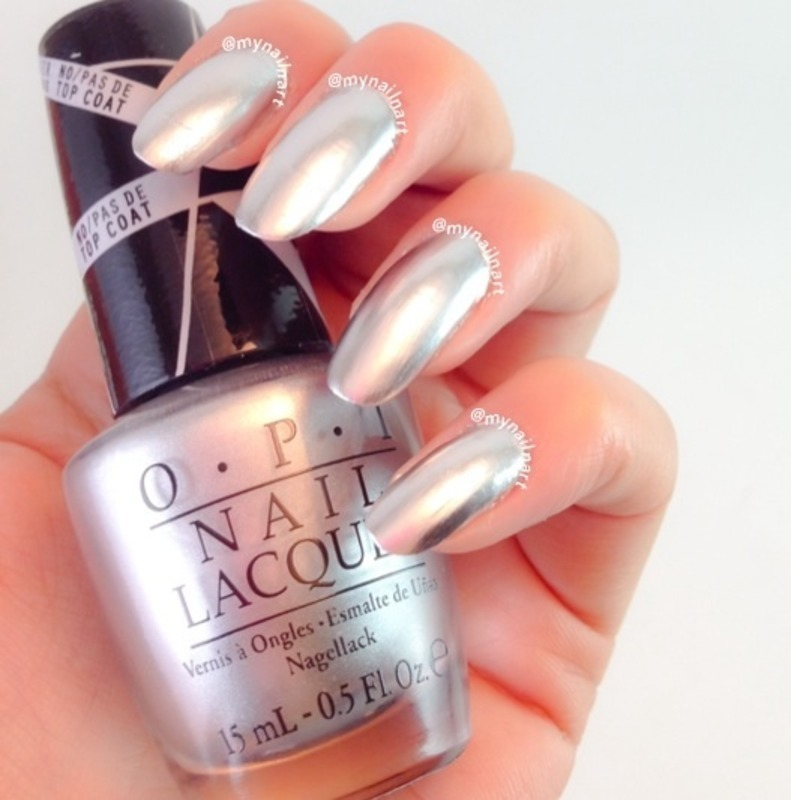 OPI Push and Shove Swatch by mynailnart