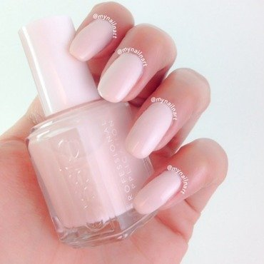 Essie Ballet Slippers Swatch by mynailnart