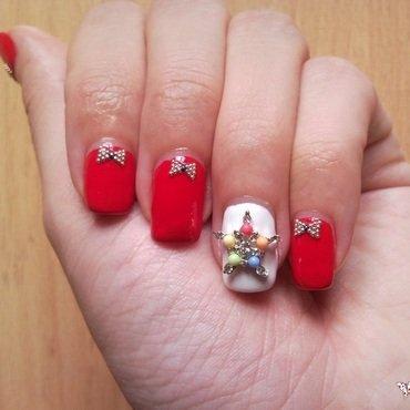 Glam nails nail art by Rita Mirabela