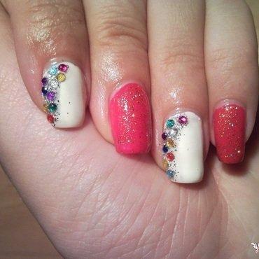 Bling Bling Nails nail art by Rita Mirabela