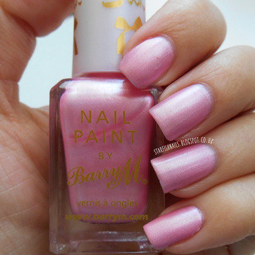 Barry M Blossom Swatch by Lisa Yabsley