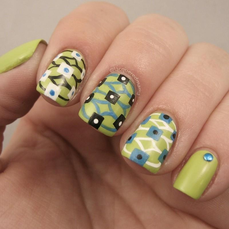 ♡ nail art by Jennifer Collins