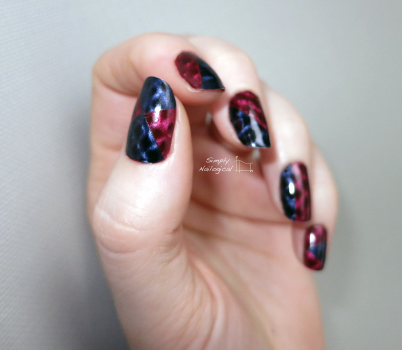 Finding love again for magnetic polish nail art by simplynailogical