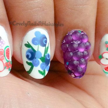 Fruttare Nails nail art by Lovely Mishra