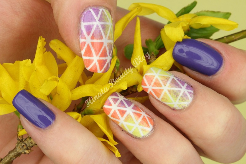 Easter Egg nail art by Hinata