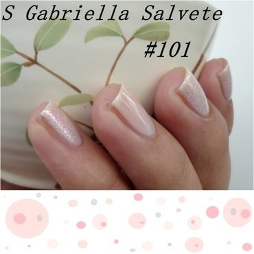 Gabriella Salvete #101 and Essence Effect nail polish #02 Baby, you're a firework Swatch by Romana