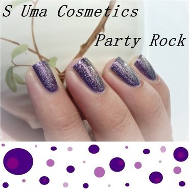 Uma Cosmetics Party Rock and Essence Effect nail polish #02 Baby, you're a firework Swatch by Romana
