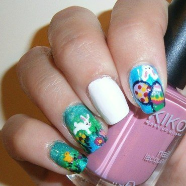 Easter nail art thumb370f