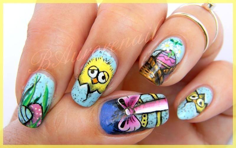 piou piou nail art by BAurorenail