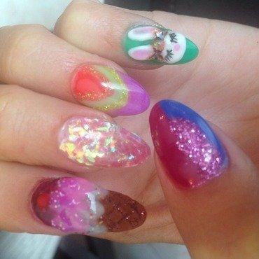 Fun talons  nail art by Vanessa Jenelle