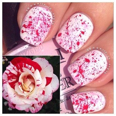 Splatter with rose opis thumb370f
