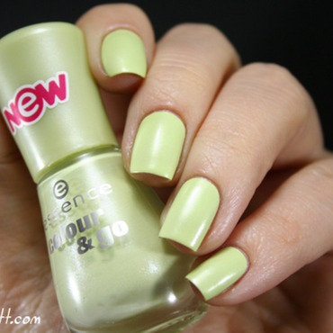 Essence Hello Spring Swatch by Mary Monkett