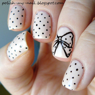 Kobo lisboa   aquarelle ribbon nail art 3 thumb370f