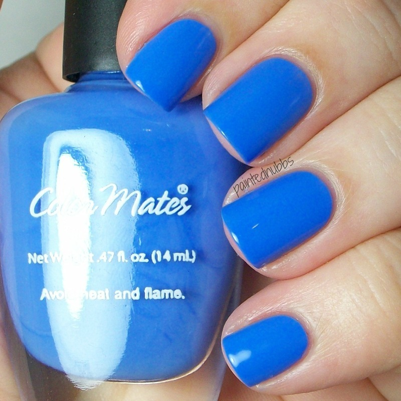 color mates Bahamian Blue Swatch by Ashlee