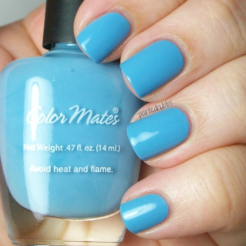color mates Cancun Blue Sky Swatch by Ashlee