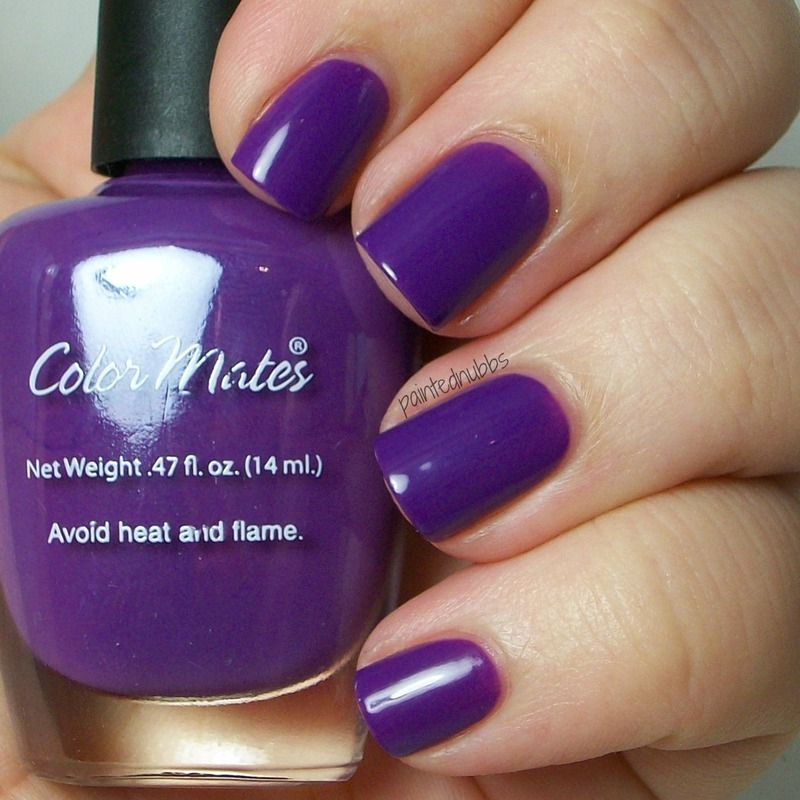 color mates Myrtle Beach Purple Swatch by Ashlee