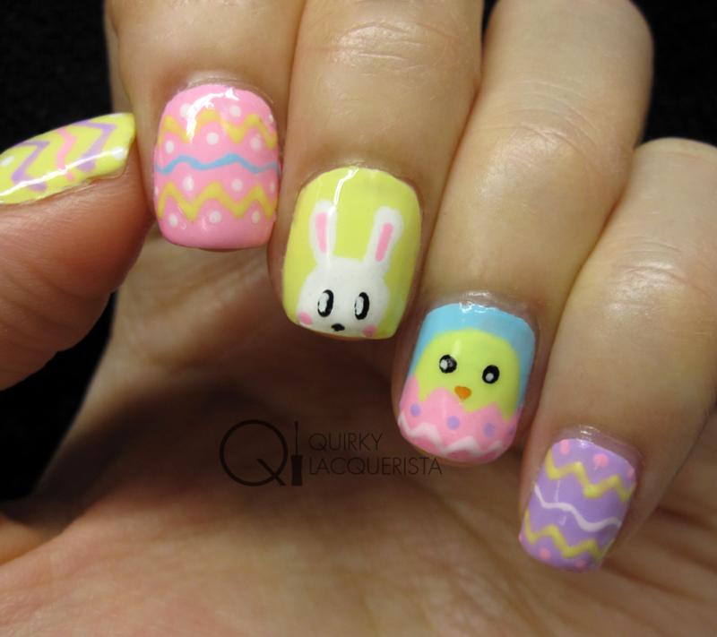 Easter Nails nail art by Kimmi