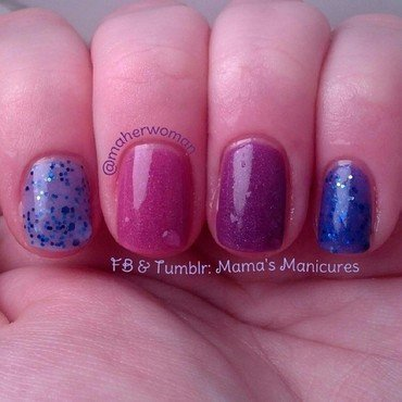 Duh Nail Polish One Love Swatch by Mama's Manicures (maherwoman)