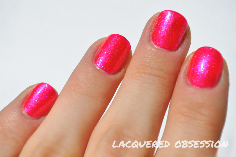 Juli Rosse N8 Swatch by Lacquered Obsession