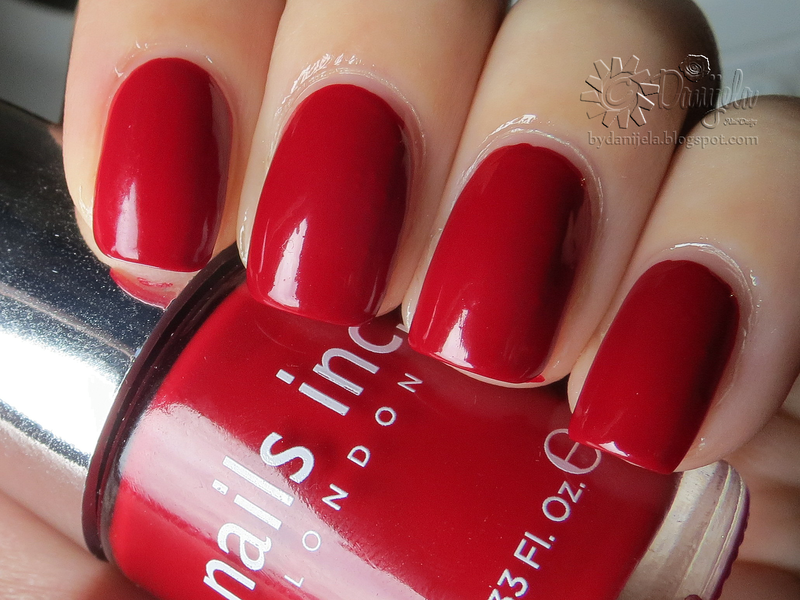 Nails Inc. Tate Swatch by bydanijela