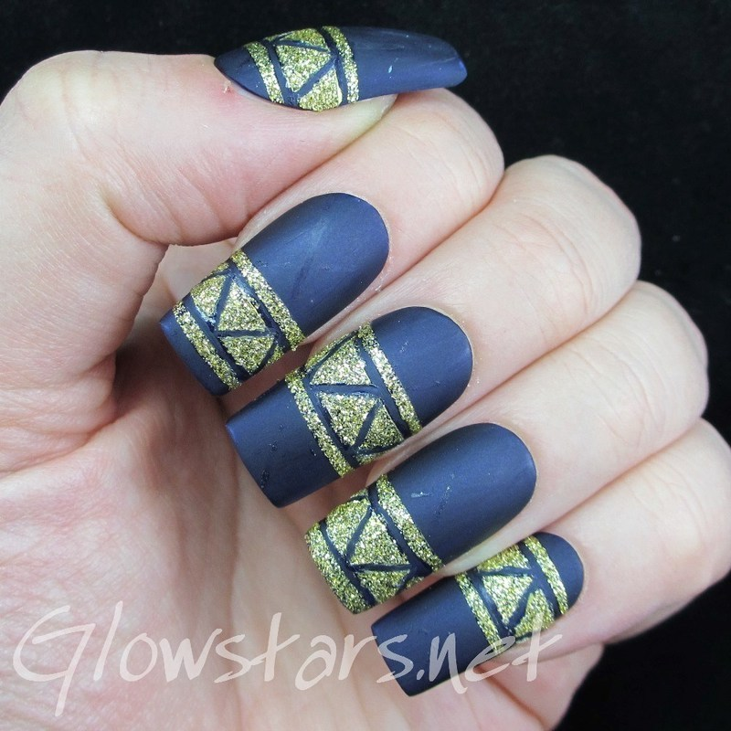 Travel miles across the sea all to find the road to me nail art by Vic 'Glowstars' Pires