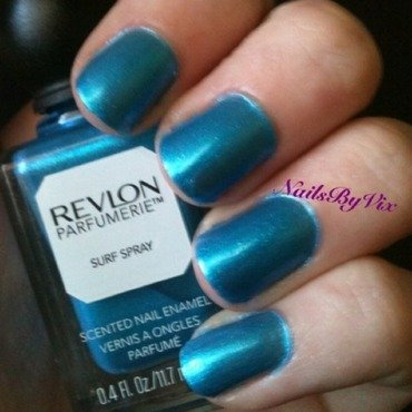 Revlon Surf Spray Swatch by Victoria Lynn