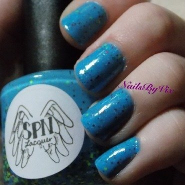 Supernatural Lacquer Endless Possibilities and Glisten and Glow HK Girl Top Coat Swatch by Victoria Lynn