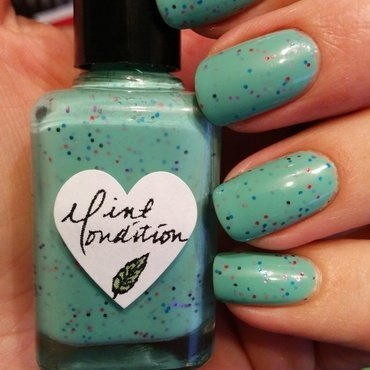 OPI Thanks A Windmillion and The Hungry Asian Mint Condition Swatch by Harriet Lockett