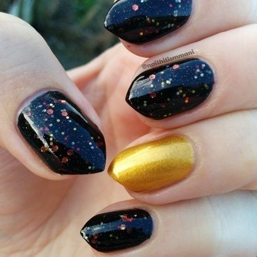 On Point and On Fire nail art by Harriet Lockett