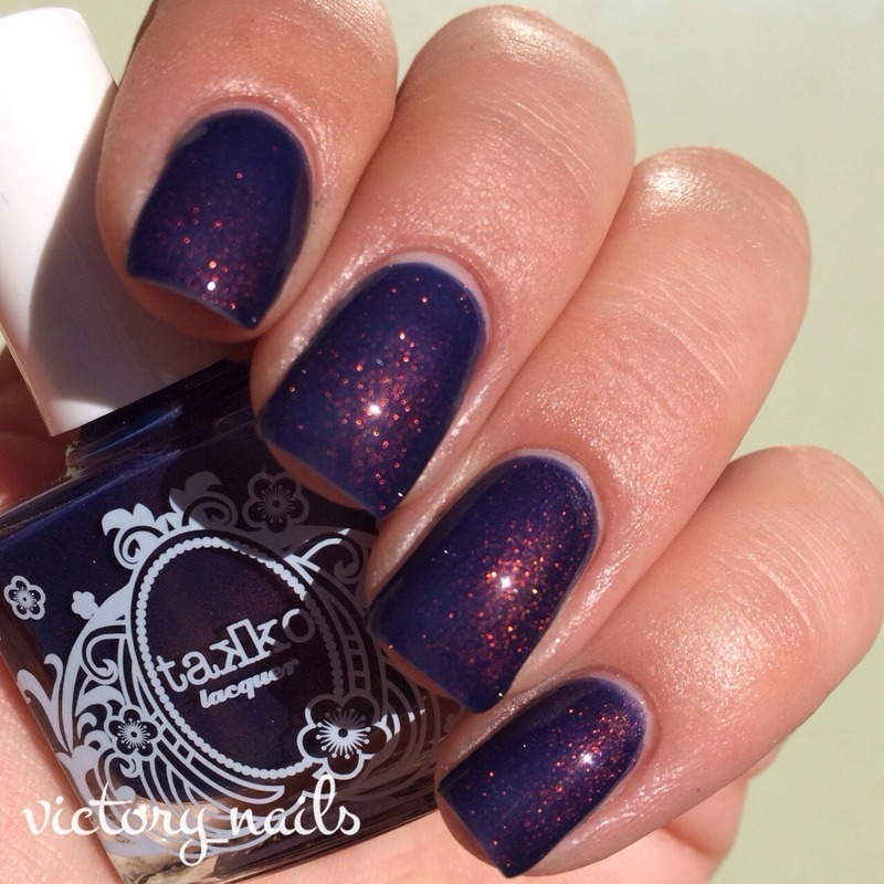 Takko Lacquer Kiss the Sky Swatch by Nicole