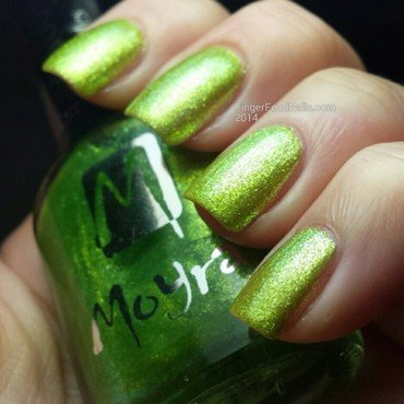 Moyra Glamour Shades No.801 Swatch by Sam