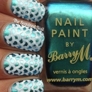 Mermaid scale nails thumb370f