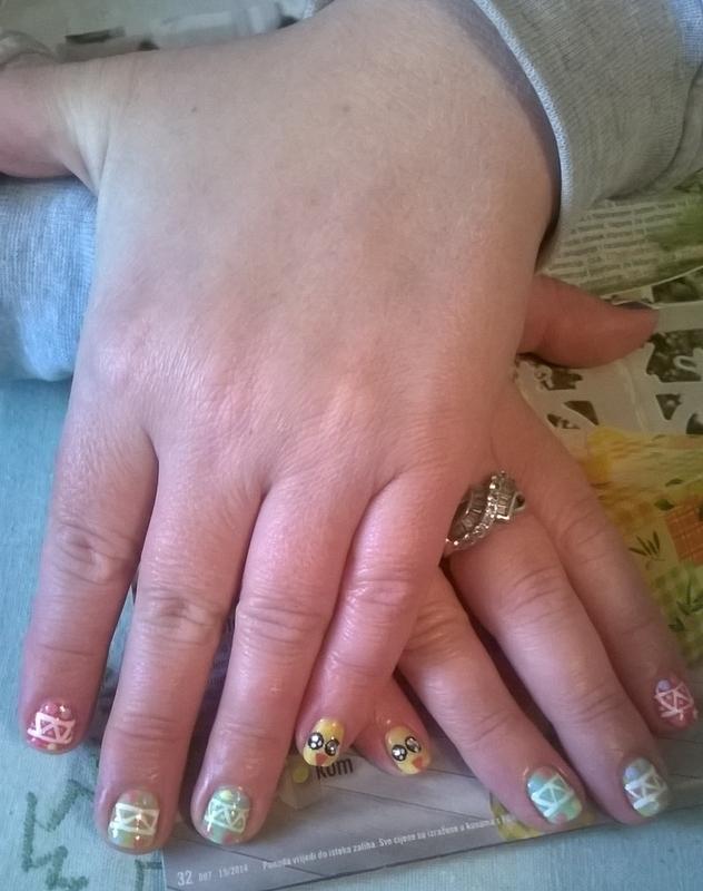 Easter nails nail art by Mila - Nailpolis: Museum of Nail Art