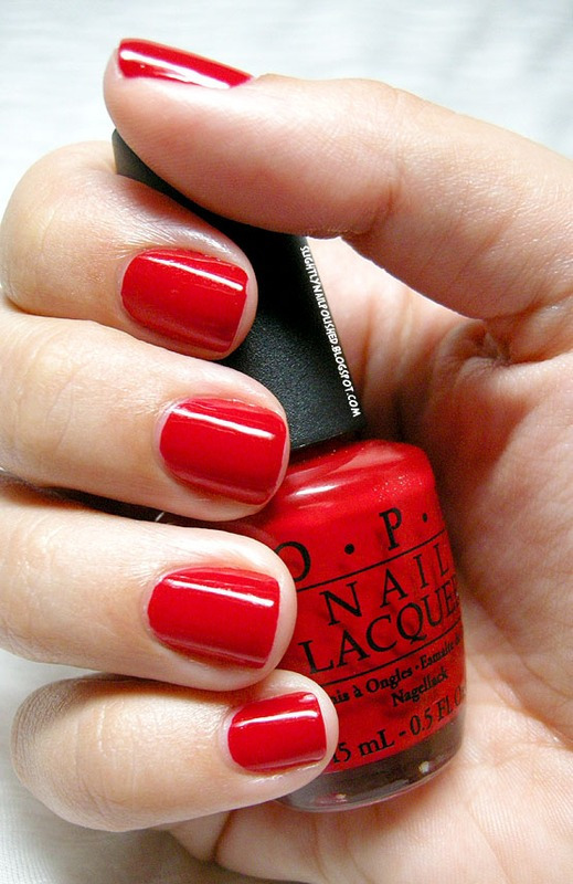 OPI Thrill of Brazil Swatch by Samantha Rae
