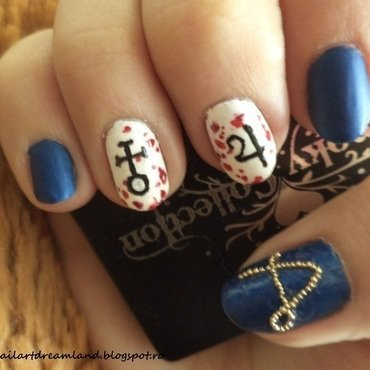 Alice: Madness returns 2 nail art by Sophie