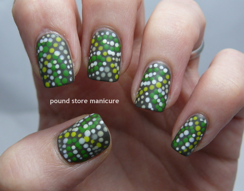 Earthy Earth Day Nails nail art by Pound Store Manicure