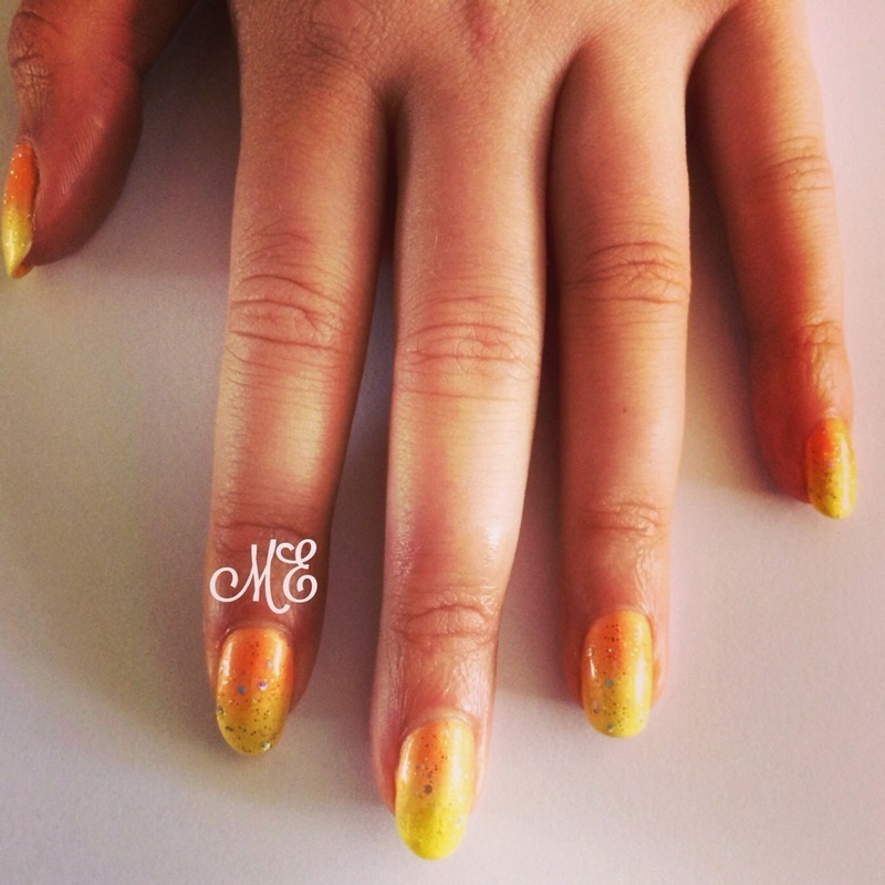 Sunshine Speciality nail art by Miriam