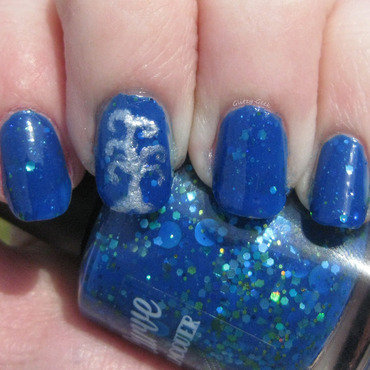 Tree Of Life nail art by Andi