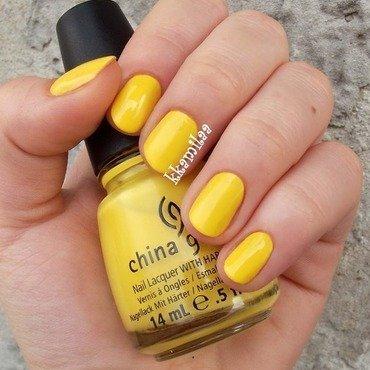 China Glaze Happy Go Lucky Swatch by Kamila