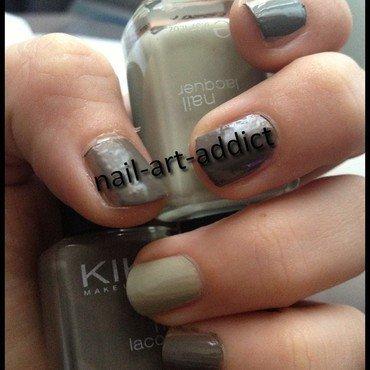 Nail art   bicolore thumb370f