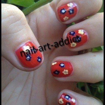 Nail art   fleurs thumb370f