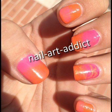 Nail Art : Dégradé nail art by SowNails