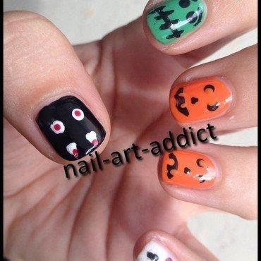 Nail art   halloween 2013 1 thumb370f