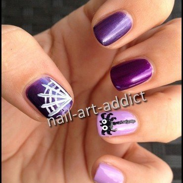 Nail art   halloween thumb370f