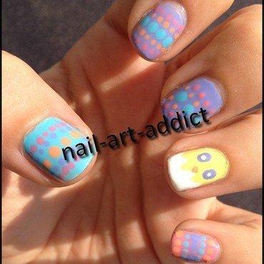 Nail Art : Pâques nail art by SowNails