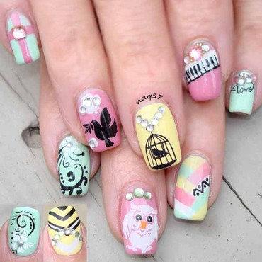 Pastels Mix & Match nail art by Nora (naq57)