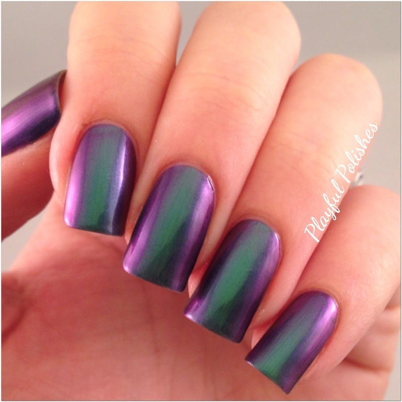 I Love NP Brand Sirene Swatch by Playful Polishes