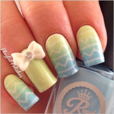Easter Nail Art 2 nail art by Playful Polishes