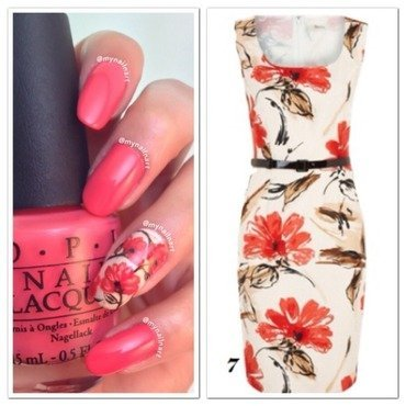 flowers nail art by mynailnart